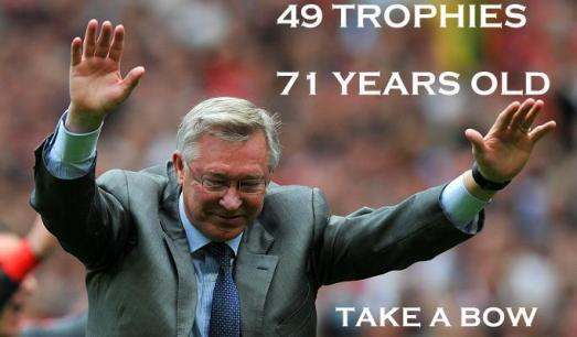 A  legend Sir Alex