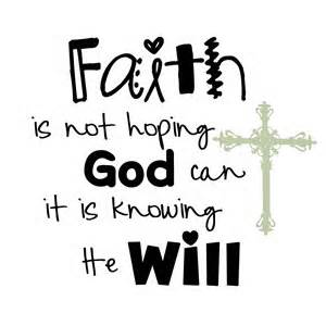 faith my life