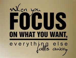 focus keep your focus